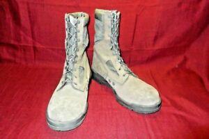 Military Boots 14 Reg Steel Toe Sage Green Belleville Waterproof USAF Flight 376