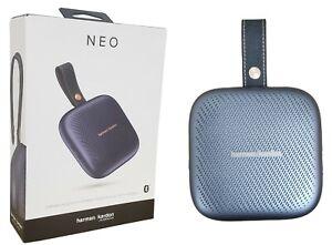 Harman Kardon Neo Portable Bluetooth Waterproof Speaker with Strap - Space Gray