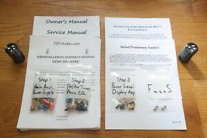Technics SA-500 rebuild restoration recap service kit repair filter capacitor