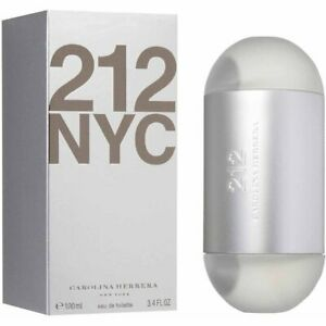 212 by Carolina Herrera for women EDT 3.3 / 3.4 oz New in Box