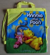 WINNIE the Pooh/THE POOH * Bambini-Borsa * GIALLO * Zaino * SACCHETTO turn * Disney * nuovo