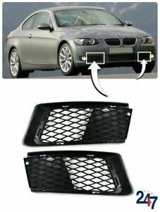 FRONT BUMPER FOG LIGHT GRILL PAIR SET FOR BMW 3 SERIES E92 E93