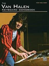 NEW The Van Halen Keyboard Songbook For Piano Vocal And Chords by Van Halen
