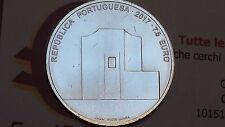 7,5 euro 2017 Ag 500/1000 Portogallo Portugal Alvaro SIZA Португалия ポルトガル 葡萄牙