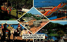 Scarborough Great Britain 1979 Miniature Train Astroglide Peasholm Park u.a.