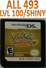 Pokemon Heart Gold Game Unlocked for DS DSI HeartGold