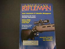 The American Rifleman, Magazine, NRA, June 1987, Anshutz Achever .22 Caliber
