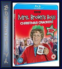 MRS BROWNS BOYS CHRISTMAS CRACKERS - Brendan O'Carroll  **BRAND NEW BLU-RAY  **