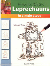 BOOK - HOW TO DRAW LEPRECHAUNS IN SIMPLE STEPS