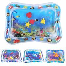 Baby Wasserkissen Spielmatte Aufblasbare Wassermatte Ca.66x50CM Kinder Tastmatte