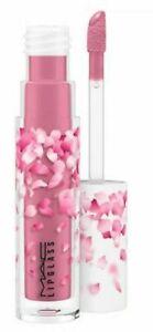 MAC~Boom Bloom~HEARTMELTER~Dark Mauve Cream Lipglass Rare~Great Gift GLOBAL