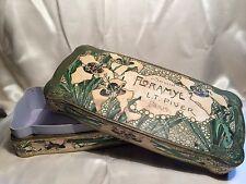 """L.T. PIVER """"FLORAMYE"""" BOITE A SAVON ART NOUVEAU 1905 VINTAGE PERFUME SOAP BOX"""