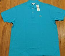 Mens Authentic Lacoste L.12.12 Classic Pique Polo Shirt Atoll 8 (3XL) $89