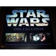 Star Wars 1996 12 Month Calendar