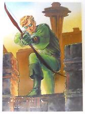 VINTAGE! 1994 SkyBox DC Master Series Trading Card #F3-Foil Green Arrow