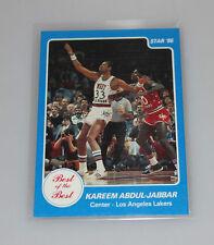 1986 Star kareem abdul jabbar Best of the best