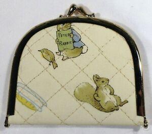 JHB International Beatrix Potter Peter Rabbit Brass Clasp Sewing Mending Kit