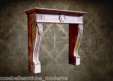 Camino Stile Impero Pietra Leccese Empire Fireplace Stone VINTAGE HOME DESIGN
