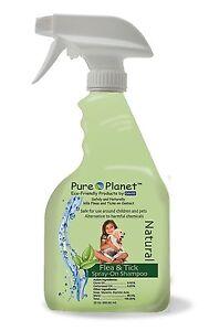 Davis Pure Planet Eco Friendly Natural Flea and Tick Spray-On Shampoo 22 Oz.