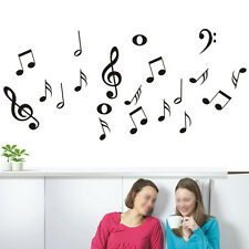 DIY Musical Notes Music Wall Decal Art Decor Vinyl Home Room Stickers