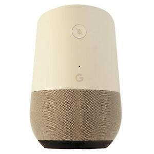 Google Home Voice-Activated Smart Speaker with Google Voice Assistant - White