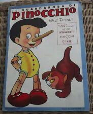 Rare Vintage Pinocchio Il Guardaroba by Carlo Collodi Walt Disney Cut Out