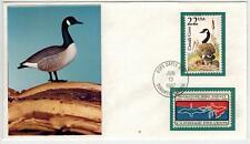 Capex CANADA GOOSE FDC From Wildlife + Migratory Bird - Ducks Nice Photo Cachet!