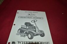 Wheel Horse A-60 Riding Mower Parts Book Manual BVPA