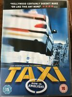 Taxi DVD Original 1997 French Action Classic ~ Rare with English Dubbed Audio