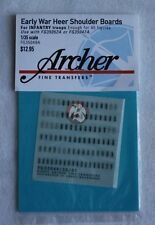 Archer 1/35 Early War Heer Shoulder Boards for Infantry Troops FG35049A