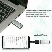 Secret mini bug Hidden Audio Tracker Dictaphone USB Drive Room Listening Device