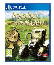 PROFESIONAL FARMER 2017 GOLD EDITION PLAYSTATION 4 PS4 NUEVO PRECINTADO -