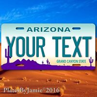 Arizona Phoenix Suns Aluminum License Plate Tag New