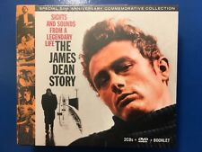 JAMES DEAN STORY.       SIGHTS AND SOUNDS FROM A LEGENDARY LIFE    2 CDS. + DVD