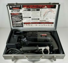 Black & Decker Industrial Spitfire Rotary Hammer 5013K w/ Metal Case & Bits