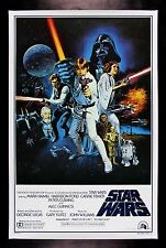 STAR WARS * STYLE C HAIRY BACK ORIGINAL BOOTLEG MOVIE POSTER CineMasterpieces