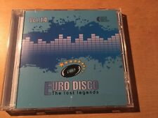 CD Euro Disco -The Lost Legends vol.14 (Lim. Edition: only 100 copies worldwide)