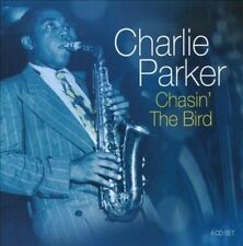 (JAZZ BOX SET) CHARLIE PARKER - CHASIN THE BIRD (4 CD SEALED)