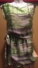 GORGEOUS!! JESSICA HOWARD Multi-color Women's Silky Dress ~ Size 16