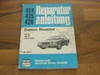 DATSUN Bluebird 160 180 1979 Motor Getriebe Fahrwerk Elektrik WERKSTATT HANDBUCH
