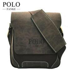 Polo Herren Umhängetasche Leder Kuriertasche Handtasche