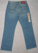 NWT Womens LUCKY BRAND Blue STRETCH DENIM JEANS Relaxed SIZE 28R 29 8 7 6 Leg30