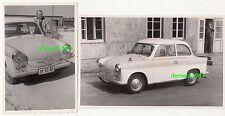 2 x Foto DDR Trabant P50 Trabi 500 um 1960 ! (F1956
