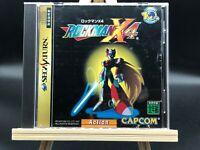 Mega Man X4 (Sega Saturn, 1997) from japan  #3097