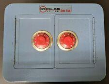 New ListingVintage Mosler Junior Bank Vault Coin Bank Double Door, Working With Combo