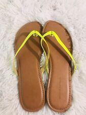 Banana Republic Sandals Flip Flop Size 10 Green