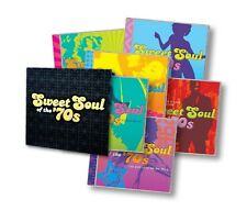Sweet Soul of the 70's 11 CD Box Set Time Life New Sealed Made & shipped USA