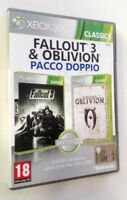 Fallout 3 - The Elder Scroll IV Oblivion - XBOX 360 - 2 Giochi Completi