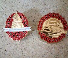 Poppy RAF Veterans Pin (2 badges)