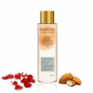 Namyaa Natural Skincare Body Toning Sculpting Wonder Oil Stretch Mark 200 ml